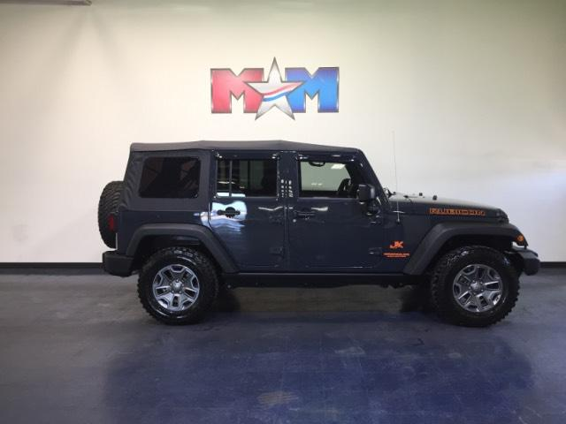 Pre-Owned 2016 Jeep Wrangler Unlimited 4WD Rubicon