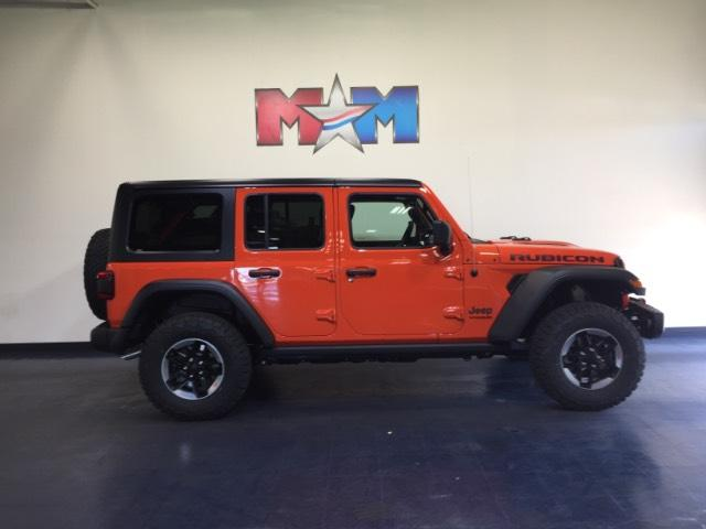 New 2018 Jeep Wrangler Unlimited Rubicon 4x4 With Navigation