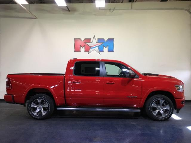 new 2019 ram 1500 laramie 4x4 crew cab 5 7 box