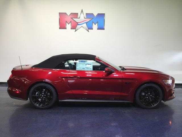New 2017 Ford Mustang Gt Premium Convertible