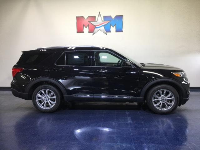 New 2020 Ford Explorer Limited 4WD With Navigation