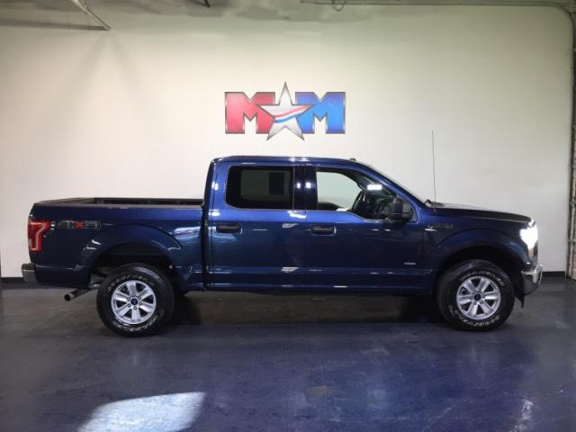Pre-Owned 2017 Ford F-150 XLT 4WD SuperCrew 5.5' Box 4WD