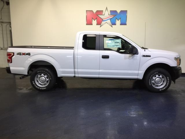 New 2018 Ford F-150 XL 4WD SuperCab 6.5' Box 4WD