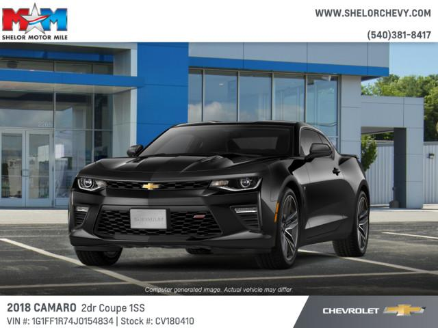 New 2018 Chevrolet Camaro 2dr Cpe SS w/1SS RWD 2dr Car