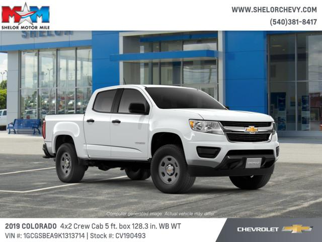New 2019 Chevrolet Colorado 2WD Crew Cab 128.3 Work Truck