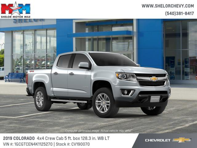 New 2019 Chevrolet Colorado 4wd Crew Cab 128 3 Lt