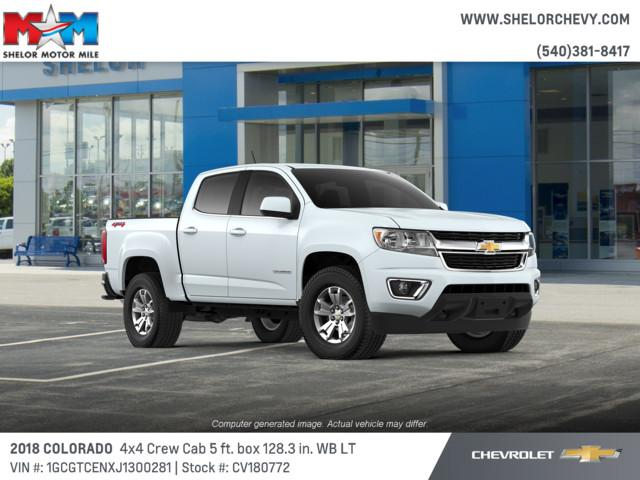 New 2018 Chevrolet Colorado 4WD Crew Cab 128.3 LT
