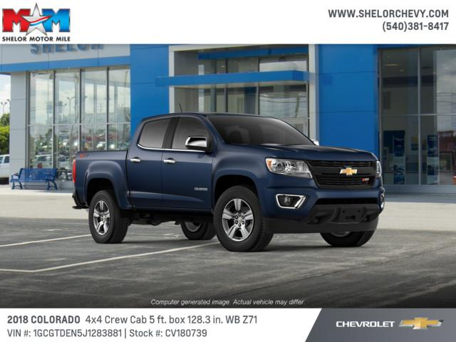 New 2018 Chevrolet Colorado 4WD Crew Cab