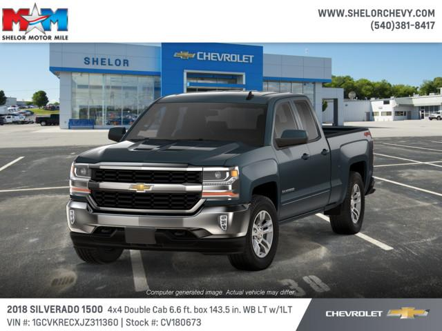 New 2018 Chevrolet Silverado 1500 4WD Double Cab