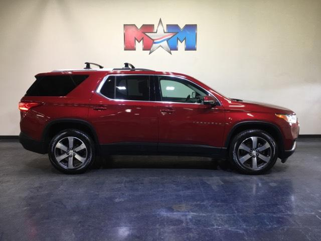 Pre-Owned 2018 Chevrolet Traverse FWD LT Leather w/3LT FWD