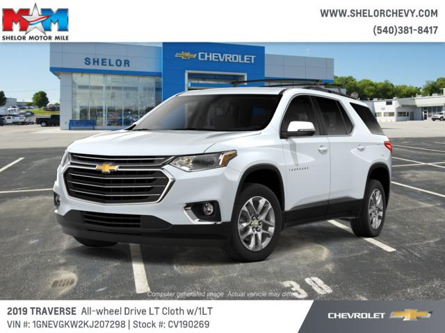 Shelor Used Cars >> New 2019 Chevrolet Traverse Awd 4dr Lt Cloth W 1lt Sport Utility In