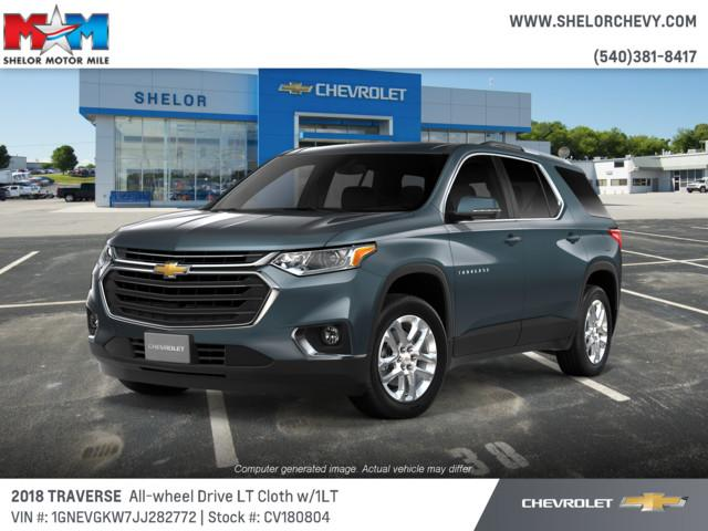 New 2018 Chevrolet Traverse AWD 4dr LT Cloth w/1LT