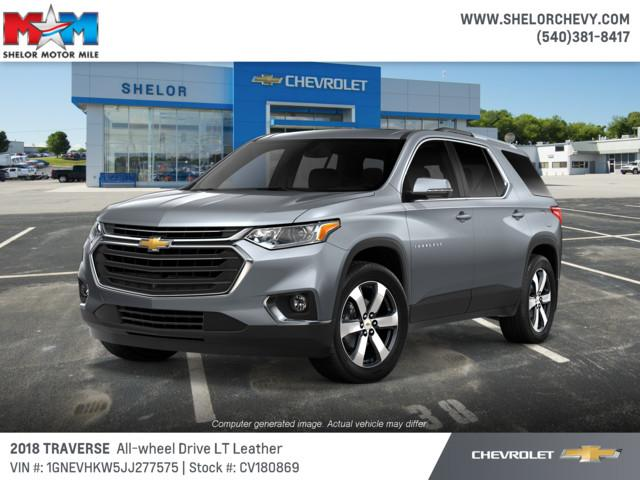 New 2018 Chevrolet Traverse AWD 4dr LT