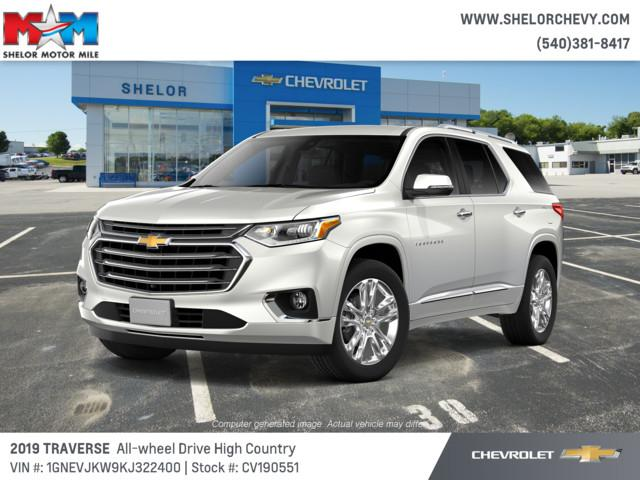 New 2019 Chevrolet Traverse AWD 4dr High Country w/2LZ