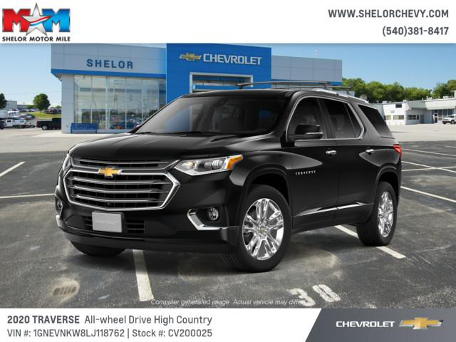 New 2020 Chevrolet Traverse AWD 4dr High Country