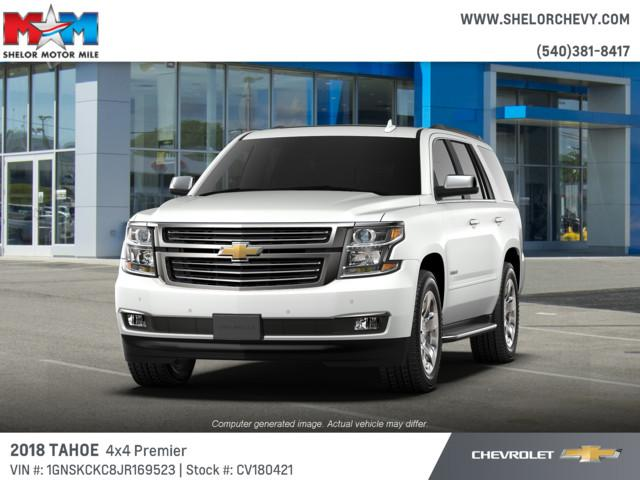 New 2018 Chevrolet Tahoe 4WD 4dr Premier 4WD