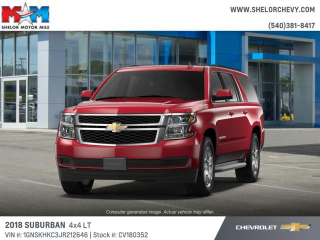 New 2018 Chevrolet Suburban 4WD 4dr 1500 LT 4WD