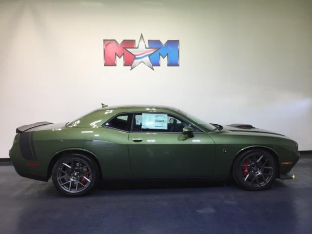 New 2018 Dodge Challenger 392 Hemi Scat Pack Shaker Rwd 2dr Car In
