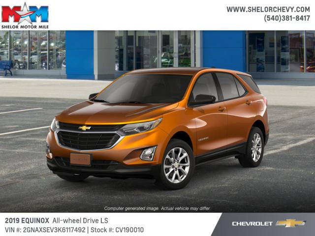 New 2019 Chevrolet Equinox AWD 4dr LS w/1LS AWD
