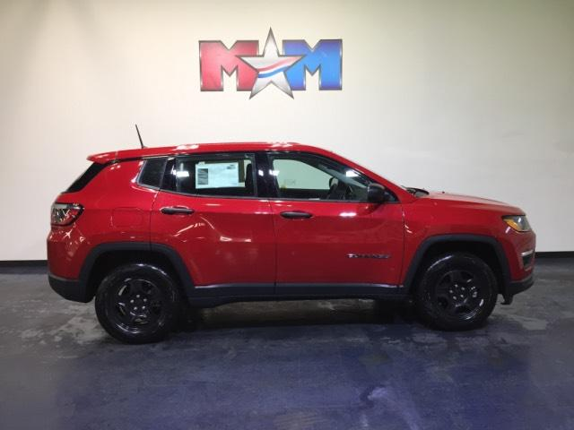 New 2018 Jeep Compass Sport FWD FWD Sport Utility