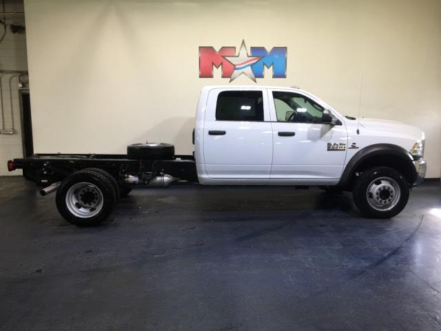 New 2018 Ram 5500 Chassis Cab Tradesman 4x4 Crew Cab