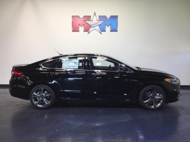 New 2018 Ford Fusion Sport AWD AWD
