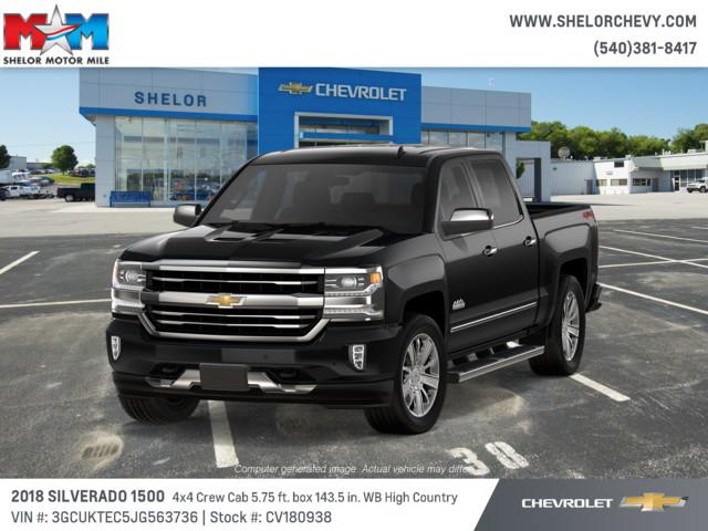 New 2018 Chevrolet Silverado 1500 4wd Crew Cab 143 5 High Country