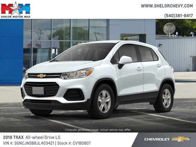 New 2018 Chevrolet Trax AWD 4dr LS