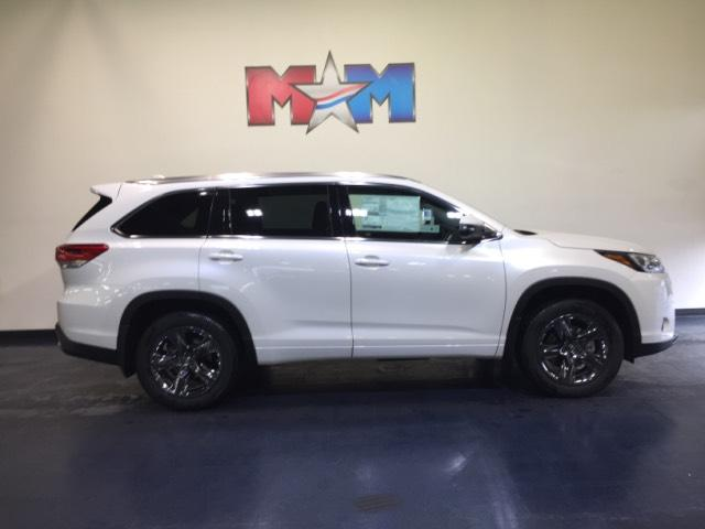 New 2019 Toyota Highlander Limited Platinum V6 Awd Sport Utility In
