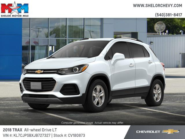 New 2018 Chevrolet Trax AWD 4dr LT AWD