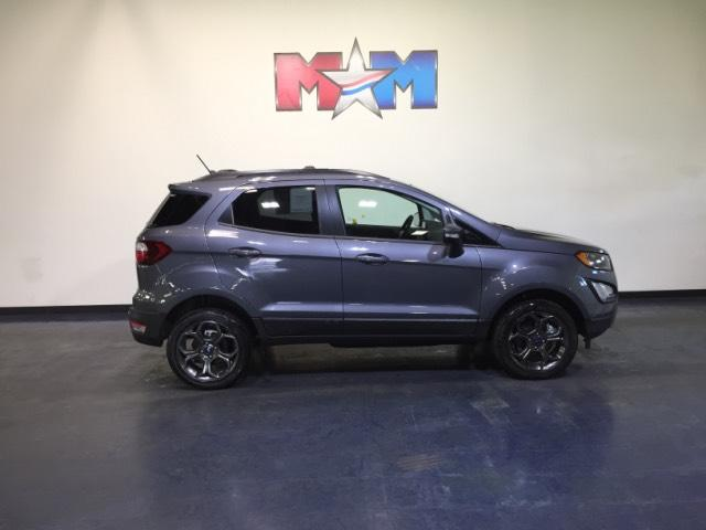 New 2018 ford ecosport ses 4wd sport utility in for Shelor motor mile chevy