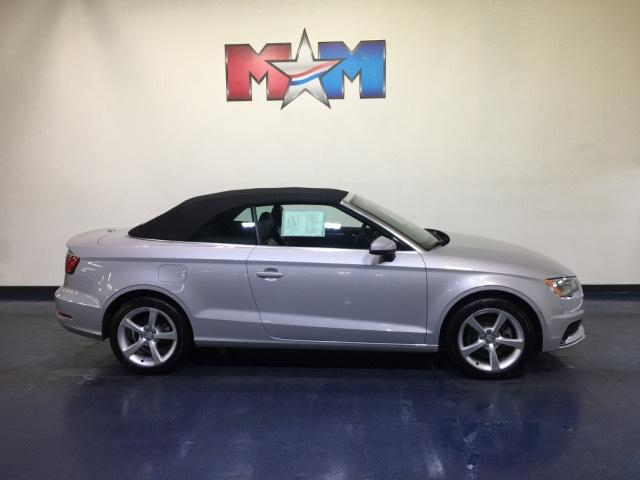 Pre-Owned 2015 Audi A3 2dr Cabriolet FWD 1.8T Premium