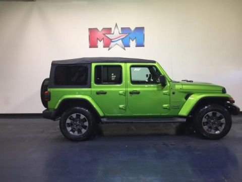 New 2018 Jeep Wrangler Unlimited Sahara 4x4