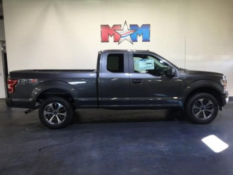 New 2019 Ford F-150 XL 4WD SuperCab 6.5' Box