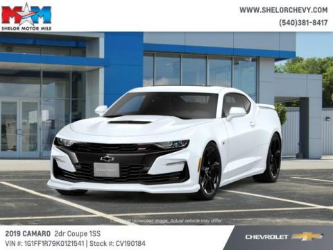 New 2019 Chevrolet Camaro 2dr Cpe SS w/1SS