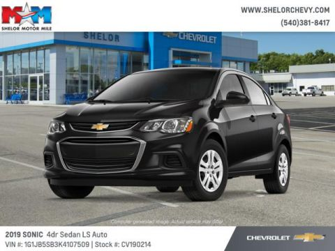 New 2019 Chevrolet Sonic 4dr Sdn Auto LS