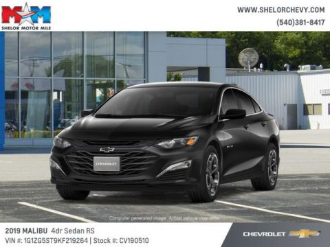 New 2019 Chevrolet Malibu 4dr Sdn RS w/1SP