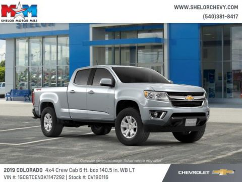 New 2019 Chevrolet Colorado 4WD Crew Cab 140.5 LT