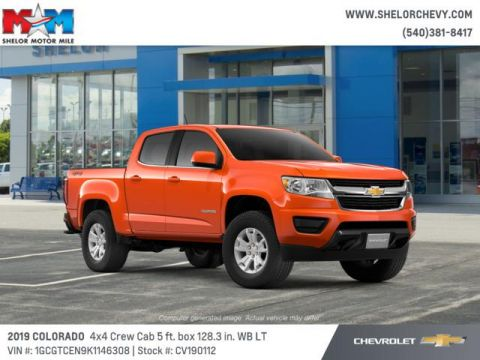 New 2019 Chevrolet Colorado 4WD Crew Cab 128.3 LT