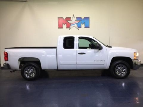 Pre-Owned 2012 Chevrolet Silverado 1500 2WD Ext Cab 143.5 LT