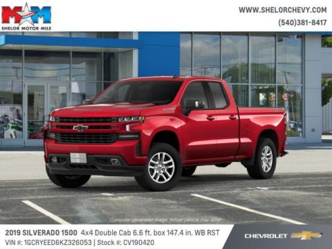 New 2019 Chevrolet Silverado 1500 4WD Double Cab 147 RST