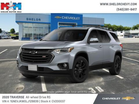 New 2020 Chevrolet Traverse AWD 4dr RS