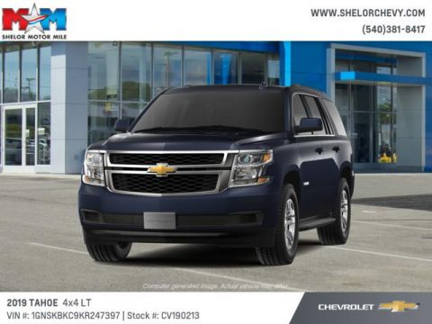 New 2019 Chevrolet Tahoe 4WD 4dr LT