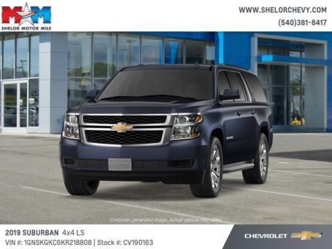 New 2019 Chevrolet Suburban 4WD 4dr 1500 LS