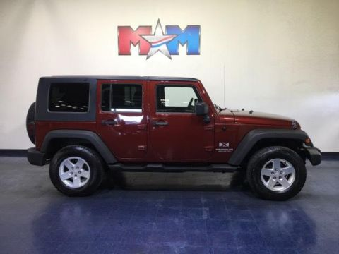 Pre-Owned 2007 Jeep Wrangler 4WD 4dr Unlimited X
