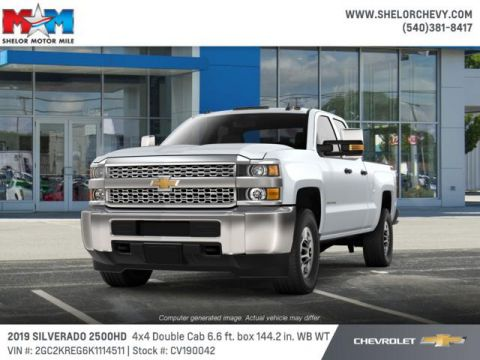 New 2019 Chevrolet Silverado 2500HD 4WD Double Cab 144.2 Work Truck