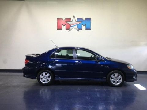 Pre-Owned 2006 Toyota Corolla 4dr Sdn S Manual