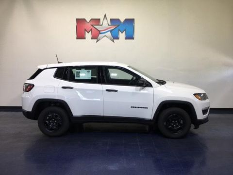New 2019 Jeep Compass Sport 4x4