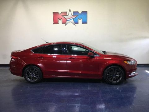 Pre-Owned 2018 Ford Fusion SE FWD