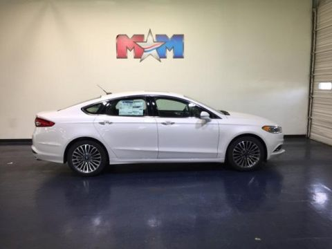 New 2018 Ford Fusion SE FWD